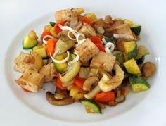 SOSCuisine: Sauté de tofu et légumes