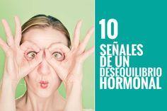 10 señales que te da tu cuerpo que indican que tienes un desequilibrio hormonal. #salud #Health #fitness
