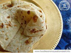 Food like Amma used to make it: How To Make Soft Roti - Modern Jamaican Roti Recipe, Roti Recipe Easy, Roti Recipe Indian, Soft Chapati Recipe, Chapati Recipes, Easy Bread Recipes, Jamaican Recipes, Curry Recipes, Cooking Recipes
