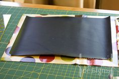 Chalkboard mat