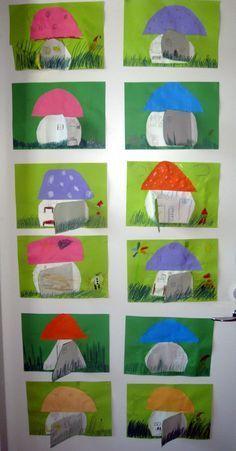 Oppilastyöt 2014 Autumn Crafts, Fall Crafts For Kids, Autumn Art, Diy For Kids, Toddler Arts And Crafts, Diy Arts And Crafts, 2nd Grade Art, Cool Art Projects, Kindergarten Art