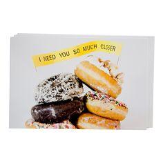 SO MUCH CLOSER Donut Postcard