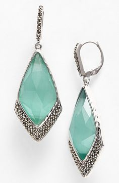 Judith Jack 'Mint Elegante' Large Drop Earrings available at #Nordstrom