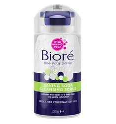 Baking Soda Scrub – Baking Soda Cleansing Scrub | Bioré® Skincare