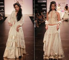 WeddingSutra Editors' Blog » Blog Archive » Anita Dongre's Timless Collection breezes through LFW 2011 Summer/ Resort