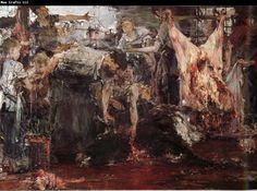 Nikolay Fechin Slaughterhouse