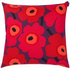 Piene Unikko pillow flowers – Marimekko #interior #design