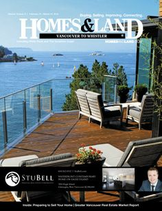 Browse homes for sale and more in the latest digital issue of Homes & Land of Metro Vancouver to Whistler, Bristish Columbia #homesandlandmagazine #realestate