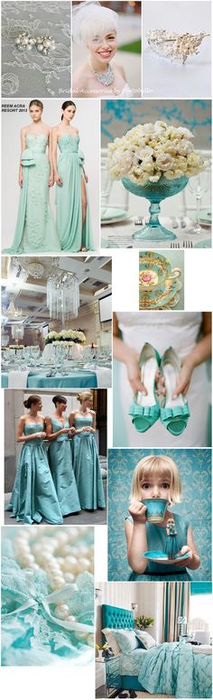Tiffany Blue Wedding Theme. Just have a rustic/country setting