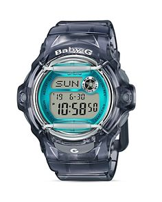 G-SHOCK BABY-G DIGITAL JELLY WATCH, 45.9MM. #g-shock #