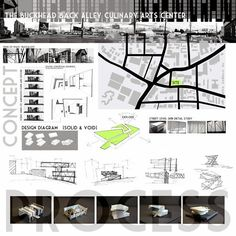 4th Year Architecture Competition Boards: