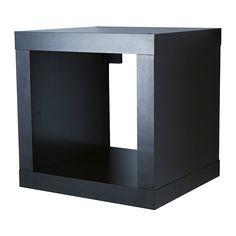 Sitting and storage bench  IKEA storage shelf unit  sc 1 st  Pinterest & KALLAX Insert with 2 drawers black-brown | Pinterest | Kallax ...