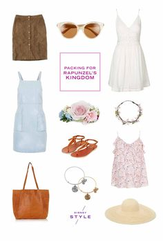 We're Packing Our Bags for: Rapunzel's Kingdom | Summer fashion | [ https://style.disney.com/fashion/2016/06/13/were-packing-our-bags-for-rapunzels-kingdom/ ]