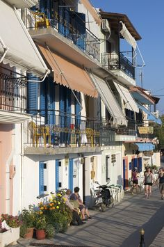 Parga, Ionian Sea, Epirus, Greece