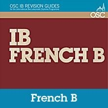 The International Baccalaureate (IB) French B programme is explained fully throughout this Revision Guide and with particular reference to the assessment criteria, it identifies the tasks which must be accomplished and how they are assessed. It looks into frequent problem areas in each component and provides strategies for addressing these areas. ISBN: 9781907374395
