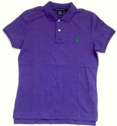 Ralph Lauren Sport Polo Shirt in Purple, Green Pony (Small) Ralph Lauren. $59.99