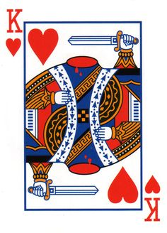 Decapitated King Card #PlayingCards - Carefully selected by GORGONIA www.gorgonia.it