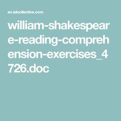 william-shakespeare-reading-comprehension-exercises_4726.doc