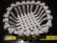 VINTAGE Weave Lattice Woven Porcelain Basket
