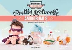 Vandaag verschenen: Prettig gestoorde amigurumi's van DenDennis! Van soepkip tot sloddervos. Onze favoriet is DenDennis himself met zijn supercoole cape!