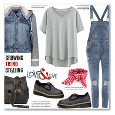 """""""Casual Look :: Hooded Denim Jacket"""" by jecakns ❤ liked on Polyvore"""