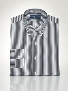 17b88a53a Custom-Fit Poplin Stripes - Polo Ralph Lauren Custom-Fit - RalphLauren.com
