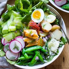 Nicoise Salad With Smoked Trout And A Horseradish Vinaigrette