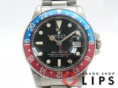 Rolex ロレックス/GMTマスター/1675(5)/SS/1978年製 時計 Watch Antique ¥503000yen 〆12月25日