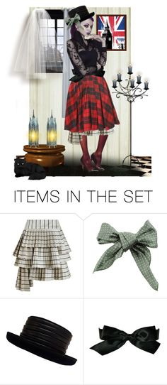 """""""Contest: """" We Love Tartan """""""" by catyravenwood ❤ liked on Polyvore featuring art"""