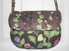 The Janie Pleated Shoulder Bag by ItsSewDarnCute on Etsy, $26.95