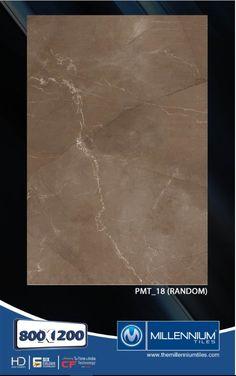Millennium Tiles 800x1200mm (32x48) PGVT Porcelain Matt XXL Floor Tiles Series  - PMT_18