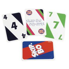 Brailled Skip-Bo Card Game - Card Games - MaxiAids  Each player or partner is dealt a stack of cards and then has to try to win by playing all those cards and building piles in numerical sequence. Ages 7 - adult. 2-6 players.