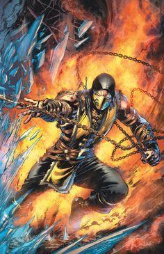 MORTAL KOMBAT X #1 Written by SHAWN KITTELSEN Art by DEXTER SOY Scorpion variant cover by IVAN REIS Sub-Zero variant cover by IVAN REIS 1:10 Video game art cover On sale JANUARY 7 • 40 pg, FC, $3.99 US • DIGITAL FIRST