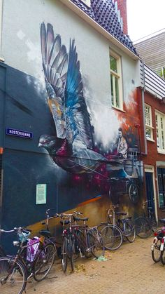 Street art in our very own hometown, Groningen!