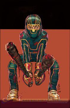Primer artwork de Kick-Ass 3 que sale a la venta en Mayo