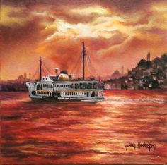 https://www.saatchiart.com/art/Painting-Sunset-in-Istanbul/851102/3784558/view