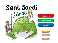Sant Jordi i el drac La Galera (Sant Jordi y el dragón) De IMAGINARIUM S.A.