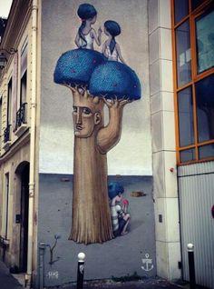 Seth x Kislow New Mural In Paris, France
