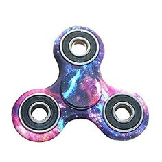 CPEI Galaxy Hands Fidget Spinner Toy Stress Reducer  Perfect for ADHD Anxiety and Autism Adult Children  Features  Ì Material: Aluminum alloy  Ì It is a great idea for a gift to some friend who cant keep their fingers still.Spinning time: More than 1 minute.  Ì CURBS undesired habits like smoking nail biting pen chewing and refocuses attention  Ì Really magical item to release your stress and anxiety mood make you focus on your work.  Ì Small Fidget Toy Big Fun: This finger toy in small size…