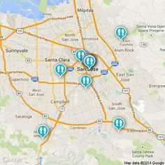 Heading to San Jose? Check out this #map for all the hot spots! http://www.strayboots.com/p/q7mx #SanJose #California #explore