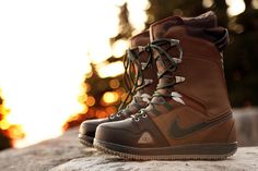 Poler x Nike Vapen Premium Snowboard Boot: A first-time collaboration project between outdoor outfitters Poler and Nike Snowboarding, this Snow Boots, Winter Boots, Outdoor Outfitters, Fun Winter Activities, Snow Gear, Snowboarding Gear, Winter Hiking, Winter Gear, Freestyle
