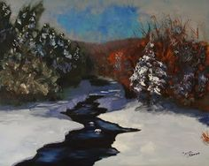 Fine Art By Caron: Snowscape