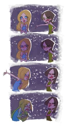 PPG Twas The Fight Before Christmas by MOUCHbart on DeviantArt
