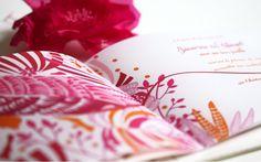 Faire part Bohème Idylle Calque Oiseau Mariage Creation sur mesure /// Wedding invitation by http://www.latelierdelsa.com/fr/6-faire-part-mariage-sur-mesure