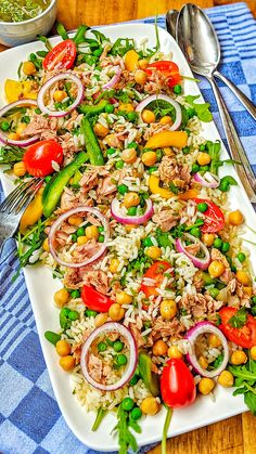 Bacon Zucchini, Rice Salad Recipes, Snacks Recipes, Meal Prep, Brunch, Food And Drink, Cooking Recipes, Dishes, Healthy