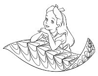find this pin and more on alice in wonderland alice in wonderland colouring pages