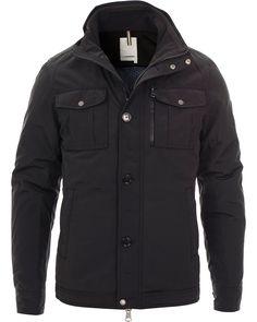 J.Lindeberg Bailey 46 Structured Poly Jacket Black hos CareOfCarl