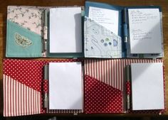 Notepad Organizers Sewing Project (PDF Pattern from DogUnderMyDesk) – Sew, What's New?