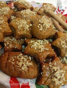 Healthy Sweets, Healthy Dessert Recipes, Cookie Recipes, Greek Cookies, Eat Greek, Sugar Free Desserts, Greek Recipes, Christmas Treats, Food And Drink