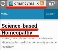 Working Principle and Research Evidence in #Homeopathic medicine